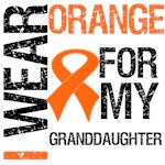 I Wear Orange For My Granddaughter Shirts & Gifts