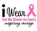 I Wear Pink Inspiring Courage Shirts