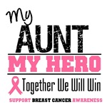 My Aunt My Hero Breast Cancer Shirts & Gifts