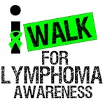 I Walk For Lymphoma Awareness Shirts & Gifts