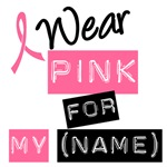 Breast Cancer I Wear Pink Fashionable T-Shirts