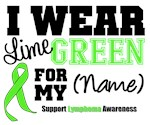 I Wear Lime Green Lymphoma Apparel & Gifts