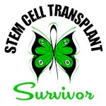Stem Cell Transplant Survivor Butterfly T-Shirts
