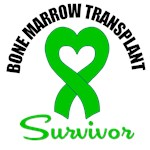 Bone Marrow Transplant Survivor Heart T-Shirts