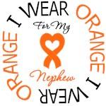 I Wear Orange Ribbon Nephew Leukemia Shirts