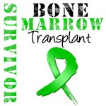 Bone Marrow Transplant Survivor Grunge Shirts