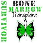 Bone Marrow Transplant Survivor Butterfly Shirts