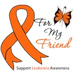Leukemia Ribbon For My Friend Shirts & Gifts