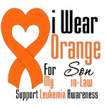 Leukemia I Wear Orange For My Son-in-Law Shirts