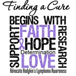 Hodgkin's Lymphoma Finding a Cure Apparel