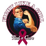 Rosie The Riveter Fight Like a Girl Myeloma