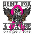 Rebel For a Cause Breast Cancer Shirts