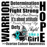 Warrior Collage Ovarian Cancer