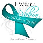 Teal Ribbon Ovarian Cancer