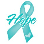 Hope Ribbon Ovarian Cancer