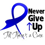 Never Give Up Colon Cancer Shirts and Gifts