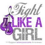Leiomyosarcoma Fight Like a Girl Shirts