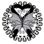 Skin Cancer Butterfly Tattoo Shirts and Gifts