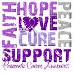 Collage Hope Cure Pancreatic Cancer Shirts