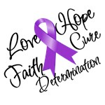 Alzheimer's Disease Hope Love Cure Shirts