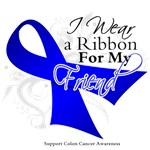 I Wear a Blue Ribbon Colon Cancer Shirts