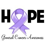 Hope Ribbon General Cancer Shirts and Gifts