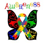 Butterfly Autism Awareness Shirts and Gifts