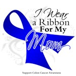 Mom Colon Cancer Support Shirts