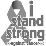 I Stand Strong Against Brain Cancer Shirts