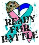 Ready For Battle Thyroid Cancer Shirts