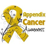 Appendix Cancer Awareness Shirts