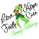 Holiday Hope Non-Hodgkins Lymphoma Shirts
