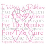 Pink Ribbon Breast Cancer Shirts