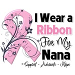 Nana Pink Ribbon Breast Cancer Shirts