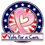 Vote for a Cure Breast Cancer Shirts