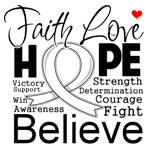 Faith Hope Mesothelioma Shirts