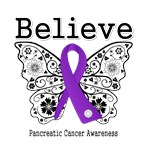 Believe - Pancreatic Cancer Shirts and Gifts