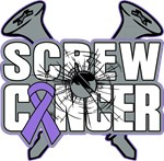 Screw Hodgkins Lymphoma Cancer Shirts