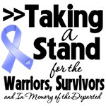 Taking a Stand Stomach Cancer Shirts