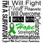Bile Duct Cancer Persevere Shirts