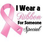 Ribbon Someone Special Breast Cancer Shirts