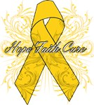 Childhood Cancer Flourish Shirts and Gifts