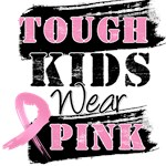 Tough Kids Wear Pink Breast Cancer Shirts