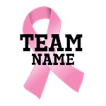 Team Name Breast Cancer Shirts