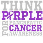 Think Purple Pancreatic Cancer Awareness Shirts