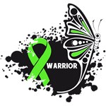 Warrior Butterfly Lymphoma Awareness Shirts