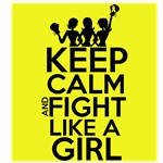 Sarcoma Cancer Keep Calm and Fight Like a Girl