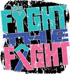 Fight The Fight Thyroid Cancer Shirts