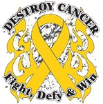 Destroy Childhood Cancer Shirts and Gear