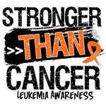 Leukemia Cancer  - Stronger than Cancer Shirts 